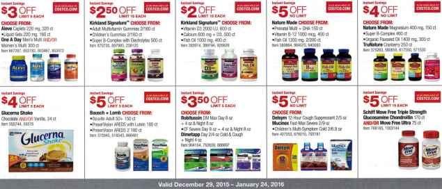 January 2016 Costco Coupon Book Page 9