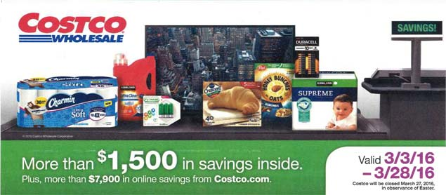 costco coupons march 2016 costco insider
