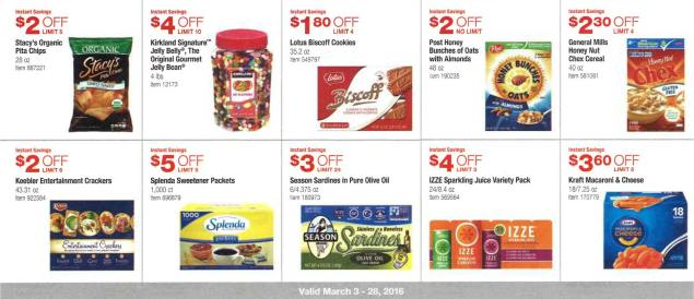 March 2016 Costco Coupon Book Page 7