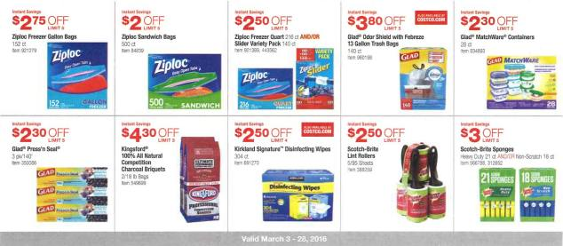 March 2016 Costco Coupon Book Page 9