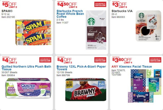 April 2016 Costco Coupon Book Page 13