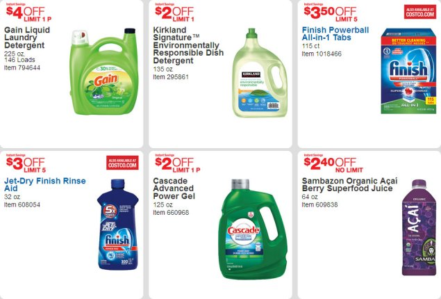 April 2016 Costco Coupon Book Page 17