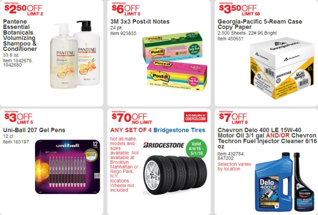 April 2016 Costco Coupon Book Page 7