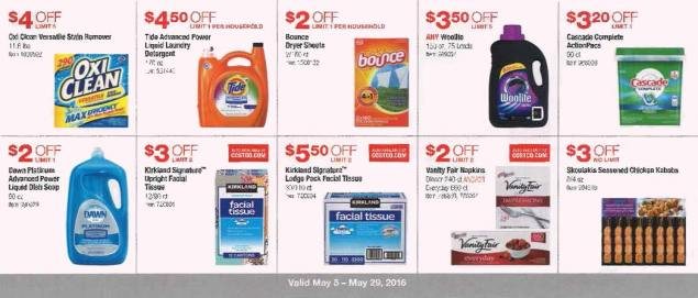 May 2016 Costco Coupon Book Page 11