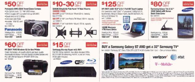 May 2016 Costco Coupon Book Page 2
