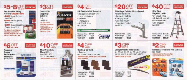 October 2016 Costco Coupon Book Page 6