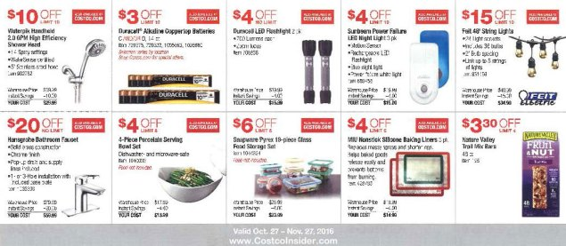 November 2016 Costco Coupon Book Page 5