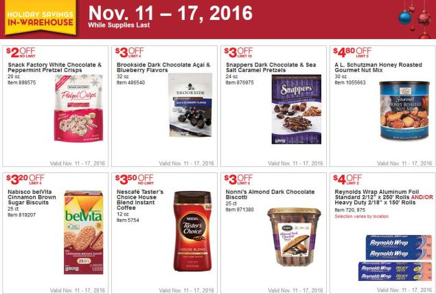 Costco Black Friday 2016 Week 1 Coupons Page 1