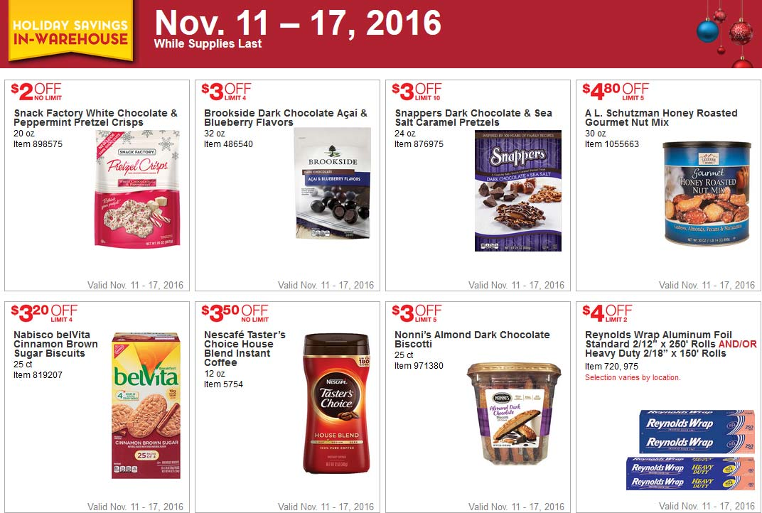 Trend Costco Black Friday Week Coupons Page
