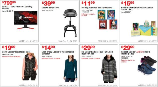 Costco Coupons December 2016 Page 10