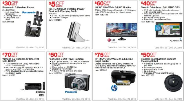 Costco Coupons December 2016 Page 2