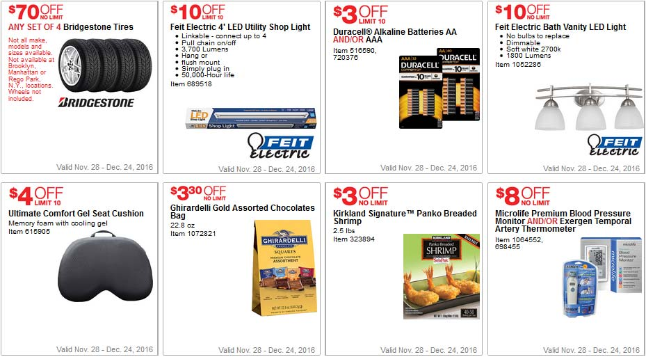 Elegant Costco Coupons December Page