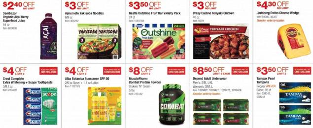 Costco March and April 2017 Coupon Book Page 12