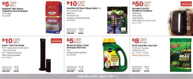 Costco March and April 2017 Coupon Book Page 3