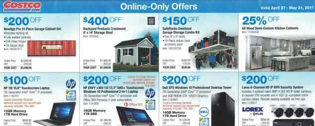 Costco May 2017 Coupon Book Page 17