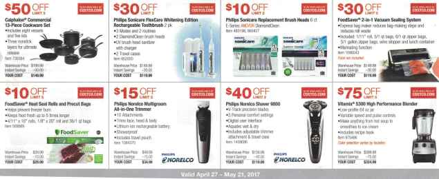 Costco May 2017 Coupon Book Page 5