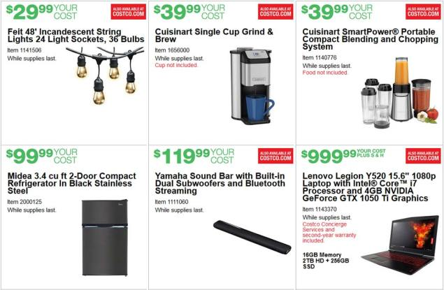 June 2017 Costco Coupon Book Page 1