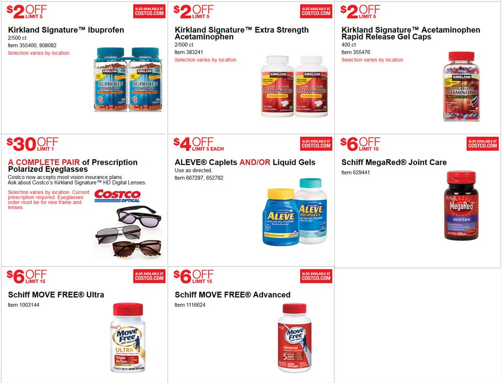 Superb June Costco Coupon Book Page