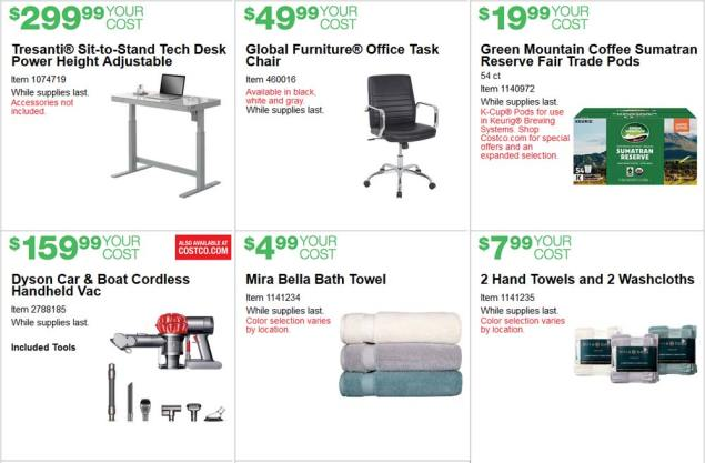 June 2017 Costco Coupon Book Page 3