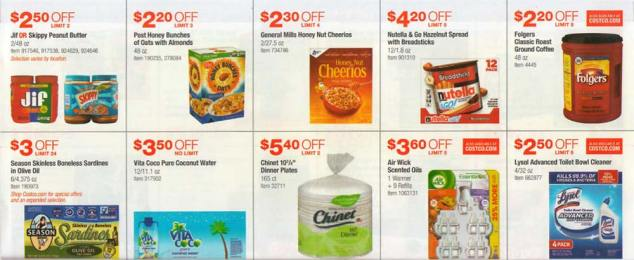 Costco July 2017 Coupon Book Page 9