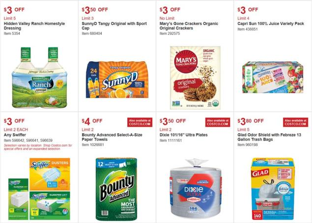 Costco August 2017 Coupon Book Page 9