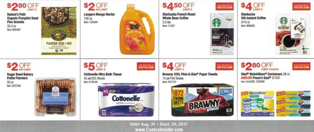 Costco September 2017 Coupon Book Page 13