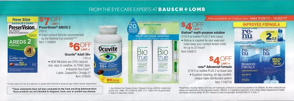 Costco October 2017 Coupon Book Page 22