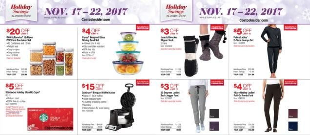 Costco Black Friday ad scan Week 2 Page 3
