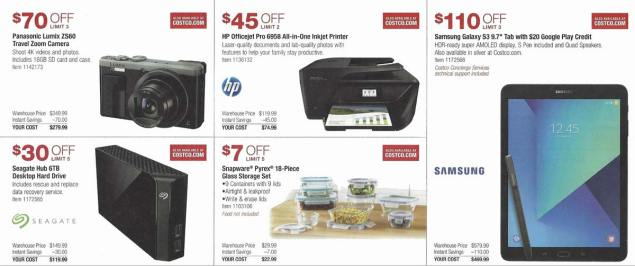 Costco December 2017 Coupon Book Page 9