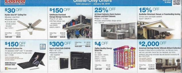 January 2018 Costco Coupon Book Page 18