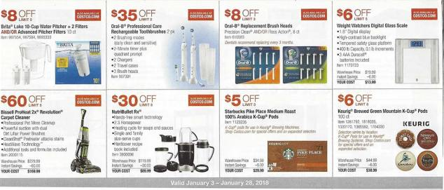 January 2018 Costco Coupon Book Page 7
