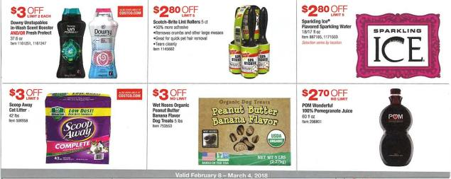 Costco February 2018 Coupon Book Page 16