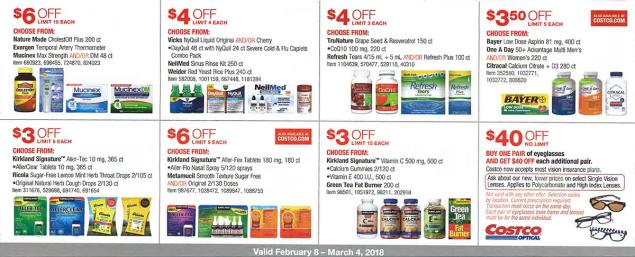Costco February 2018 Coupon Book Page 18