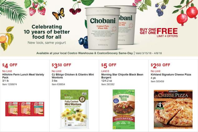 Costco Coupon March 2018 Page 11