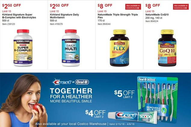 Costco Coupon March 2018 Page 14
