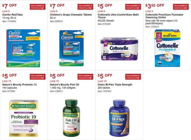 Costco Coupon March 2018 Page 19