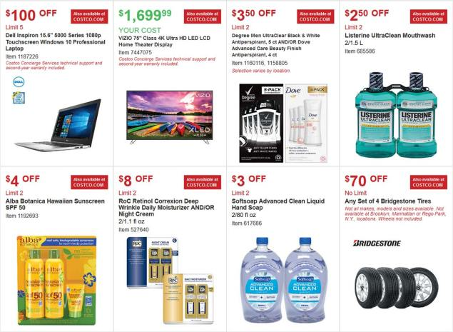 Costco Coupon March 2018 Page 3