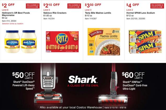 Costco Coupon March 2018 Page 7