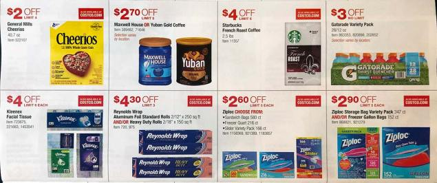 April 2018 Costco Coupon Book Page 15