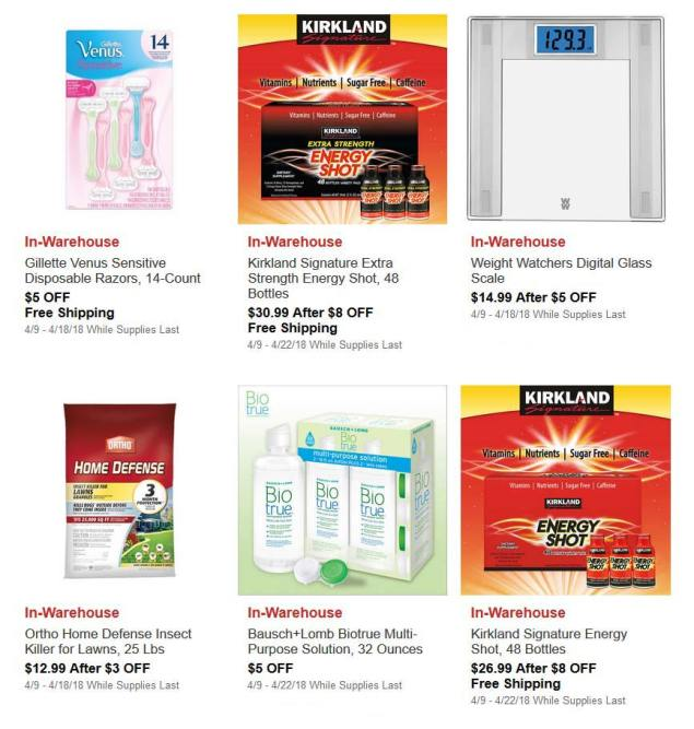 April 2018 Costco Hot Buys Page 3