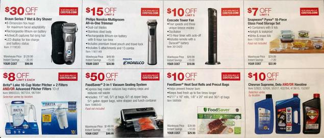April 2018 Costco Coupon Book Page 9