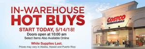 Costco May 2018 Hot Buys Coupons