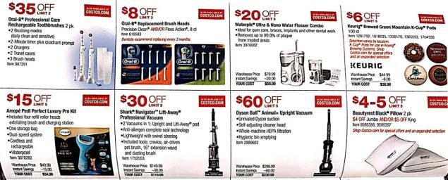Costco Coupons May 2018 Page 10