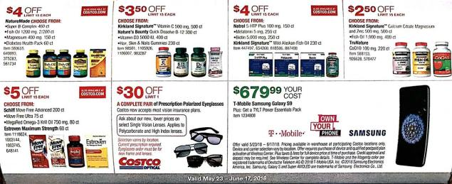 Costco Coupons May 2018 Page 20