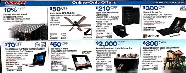 Costco Coupons May 2018 Page 21