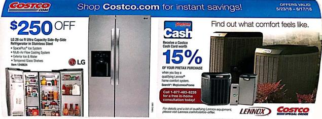 Costco Coupons May 2018 Page 23