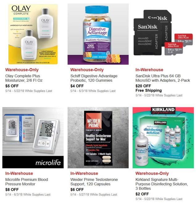 May Hot Buys Coupons Page 3
