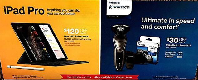 Costco Coupons May 2018 Page 7