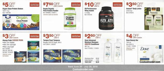 Costco Coupons July 2018 Page 10