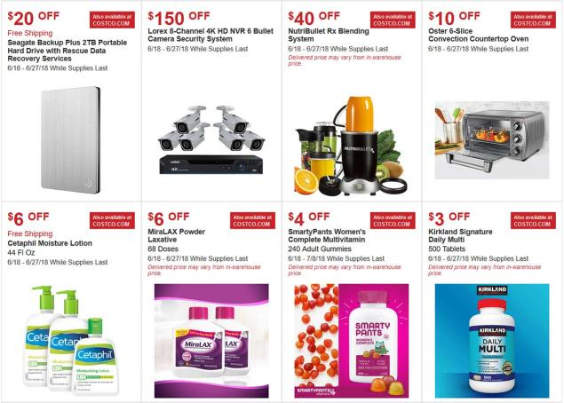 Costco June 2018 Hot Buys Page 2